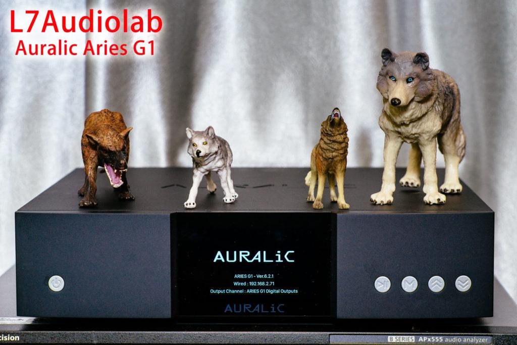 AURALiC ARIES G1 前视图